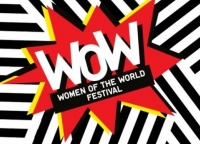 WOW logo: white letters on an exploding red star